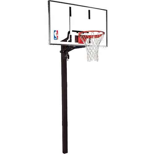 Spalding 60 Ground Basketball System Review on sportcraft basketball arcade game