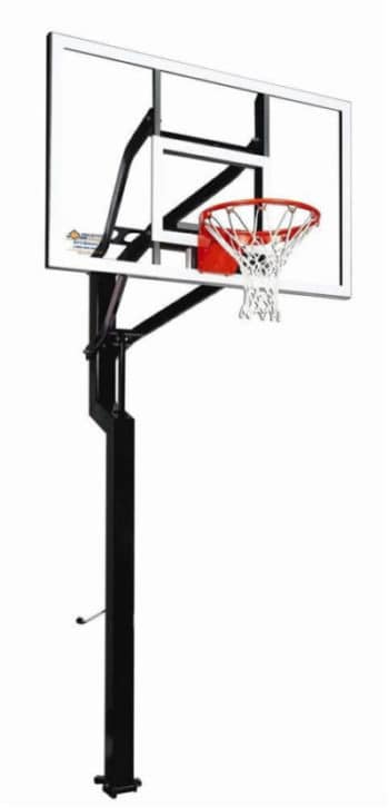 goalsetter all american in-ground basketball hoop