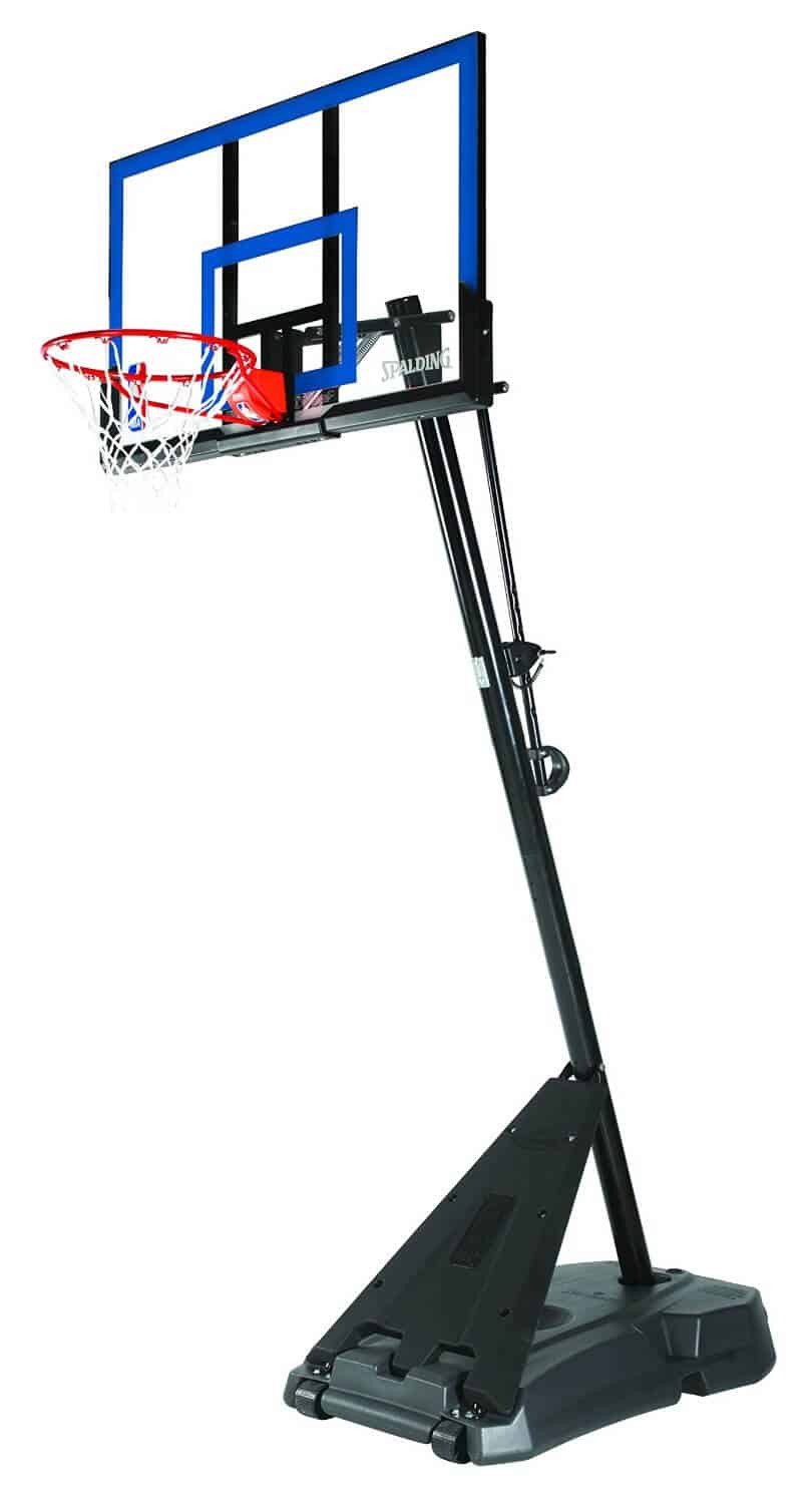 Review Of The Spalding Hercules Portable Basketball System