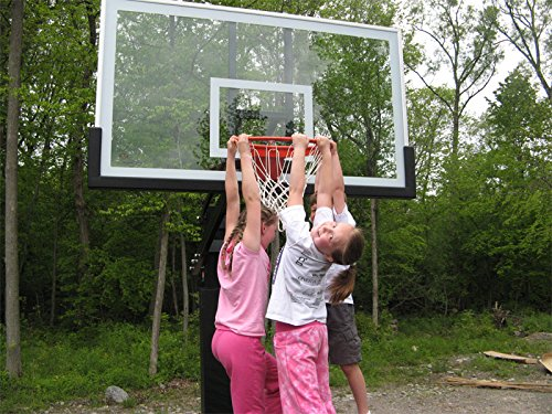 Pro Dunk Platinum Basketball Hoop Kids Hanging