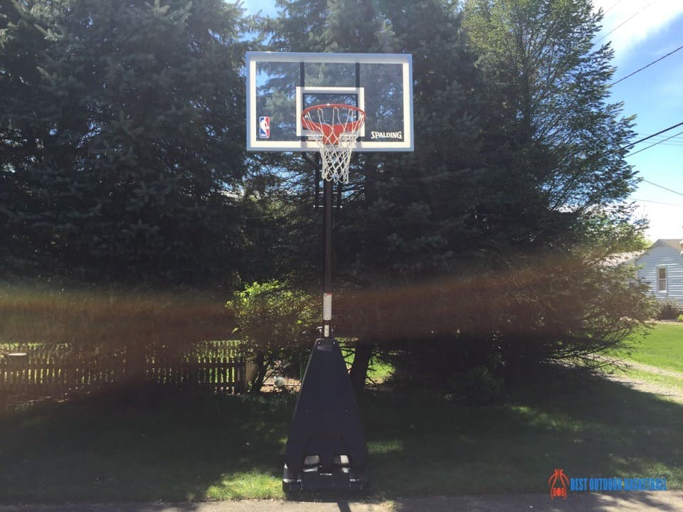 Spalding Hybrid Basketball Hoop