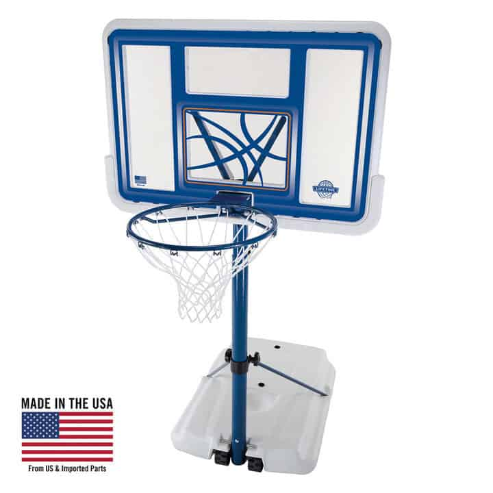 Lifetime Pool Side Basketball Hoop