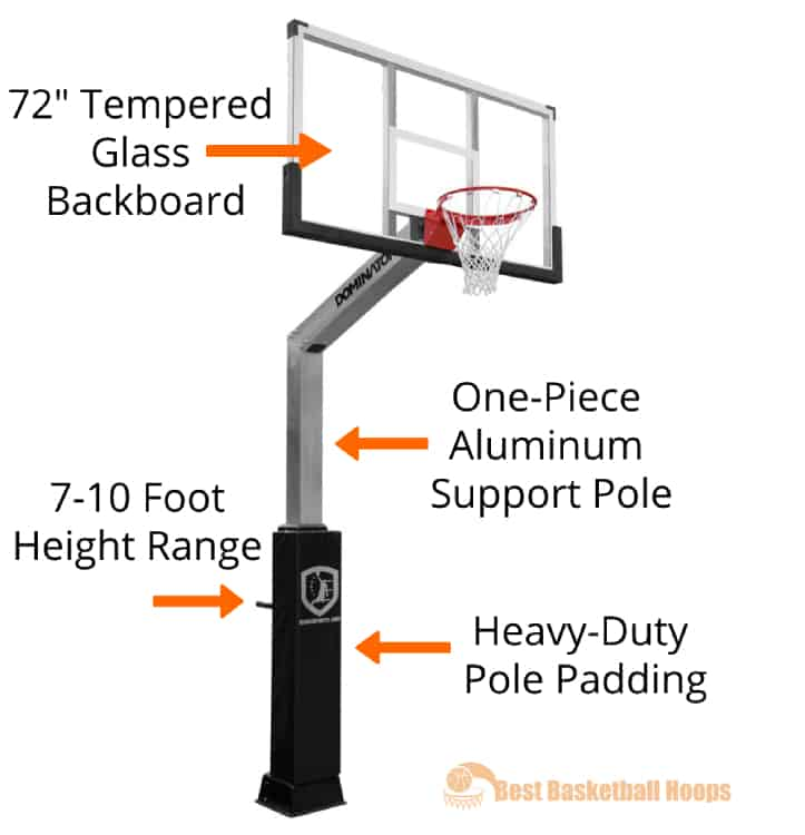 Best Basketball Hoops - Dominator