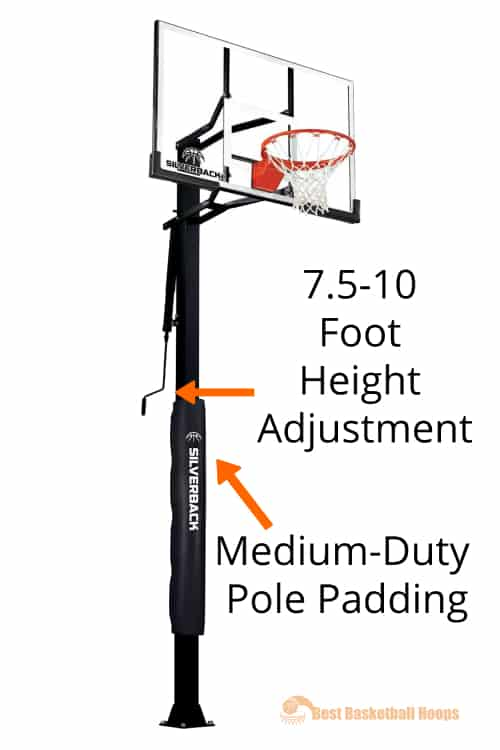Best Basketball Hoops - Silverback SB