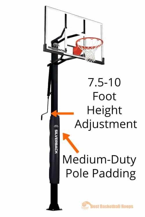Best Basketball Hoops - Silverback SB