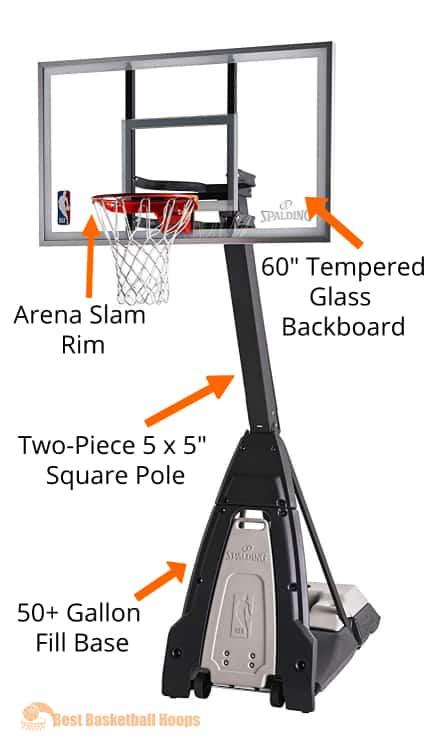 Best Basketball Hoops - Spalding Beast